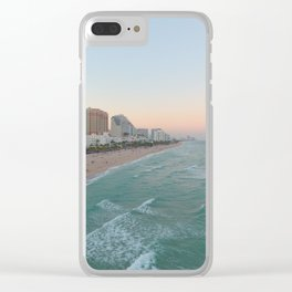 fort lauderdale beach Clear iPhone Case