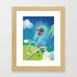 The Eyez - Astronaut Framed Art Print