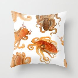 Color Marine Pattern 01 Throw Pillow