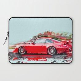 The Red Porsche Laptop Sleeve