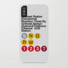 Nº5. Helvetica Posters by empatía® iPhone X Slim Case