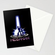 MEGATRON - Megaman | Tron | Nintendo | retrogames | 80's | vintage | retro | videogames | console Stationery Cards