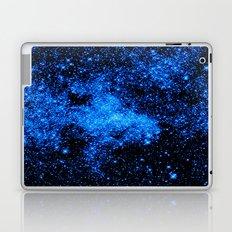 gALAXy Midnight Blue Stars Laptop & iPad Skin