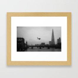Falling Serie 3/4 Framed Art Print