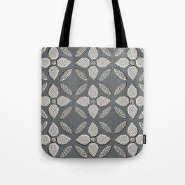 Jaipur Trellis Graphite Tote Bag