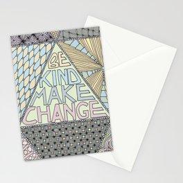 Be Kind Make Change Stationery Cards