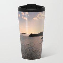 sunset in Sardinia Travel Mug