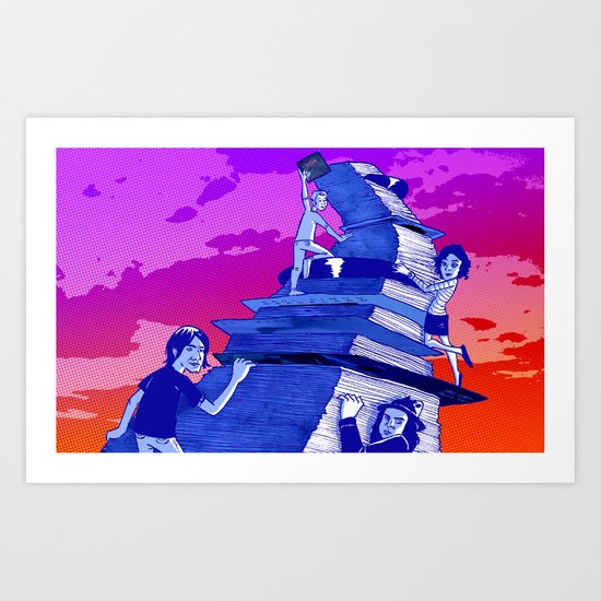 """Musicians Going Solo"" by Dmitri Jackson Art Print"