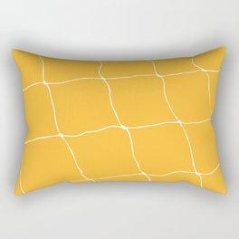 Tennis Net Pattern Rectangular Pillow
