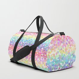 Abstract rainbow texture Duffle Bag