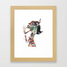 Joint lady Framed Art Print