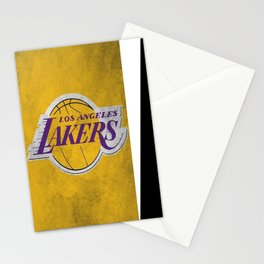 Los Angeles Laker Stationery Cards