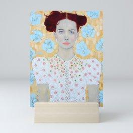 Janine Mini Art Print