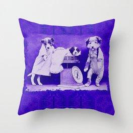 DogCurios 08 Throw Pillow