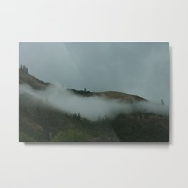 Weather rolling in #2. Metal Print