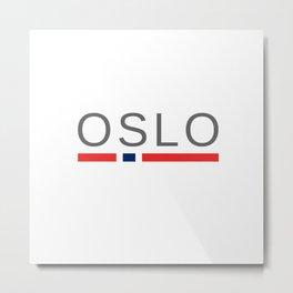 Oslo Norway Metal Print