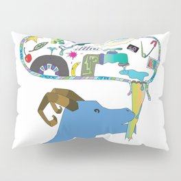 Bite Out Of Imagination Pillow Sham