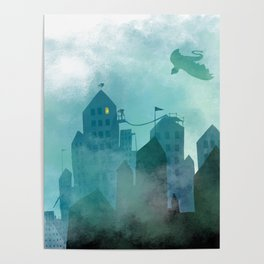 Foggy Night Poster