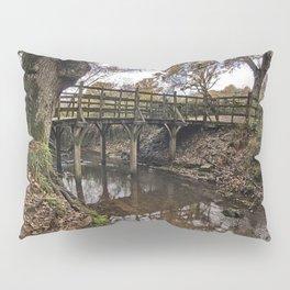 Pooh Bridge In Autumn Pillow Sham