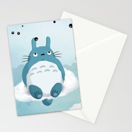 Blue fanart (my neighbour T0T0R0) Stationery Cards