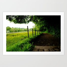 English Pathways Art Print