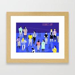 Frances Ha Framed Art Print