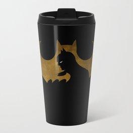 The dark man Metal Travel Mug