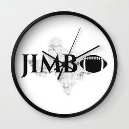JIMBO TEES Wall Clock