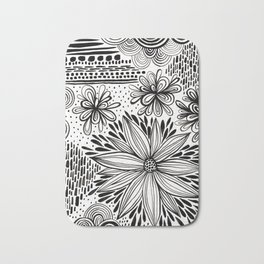 Cacophony of Doodles Bath Mat