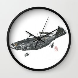 Speckled trout Wall Clock