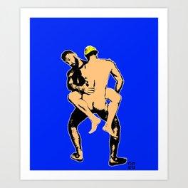 Blue Boyz Club Art Print