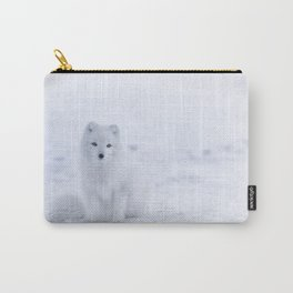 Arctic Fox (Color) Carry-All Pouch