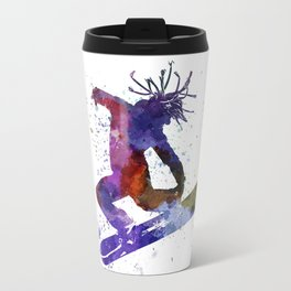 young snowboarder Travel Mug