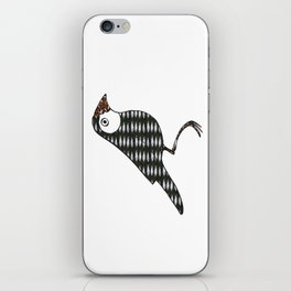 Fish bird iPhone Skin