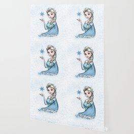 The Snow Queen Color Wallpaper