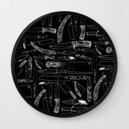 Knifes Wall Clock