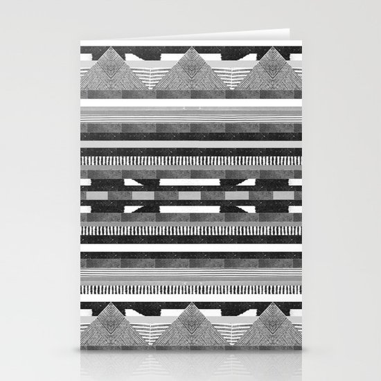 DG Aztec No.2 Monotone Stationery Cards