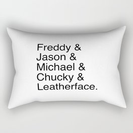 Horror's Best Rectangular Pillow