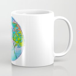 Mermaid fixing her hair Coffee Mug
