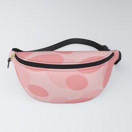Bubble Pink background  Fanny Pack