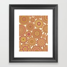 Millefiori Karma-Canyon colorway Framed Art Print