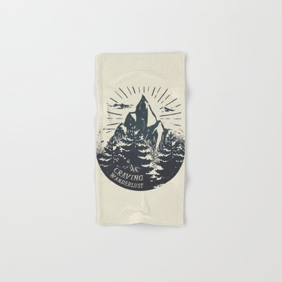 Craving wanderlust III Hand & Bath Towel