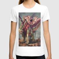 kaiju T-shirts featuring Fringehead Kaiju by Rushelle Kucala Art