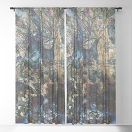 Wild World Sheer Curtain