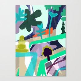 Tree Lined Avenue Canvas Print