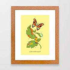 Papilio insulaeinfanum praegrandis Framed Art Print