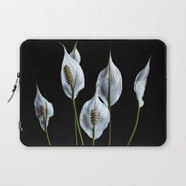 Peace Lilies Laptop Sleeve