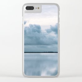 Epic Sky reflection in Iceland - Landscape Photography Clear iPhone Case