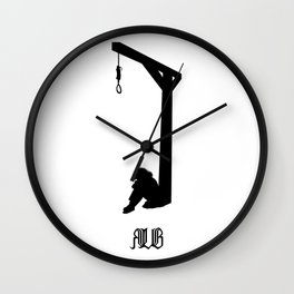 Contemplation Wall Clock