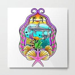 Sea Life Metal Print